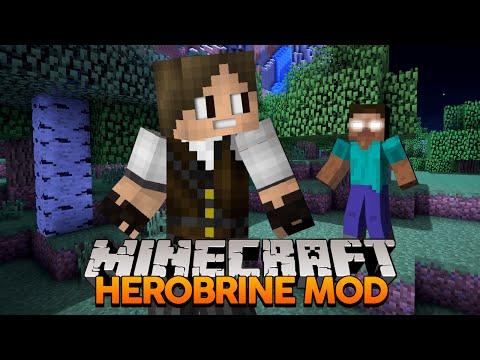 Minecraft: Sustos com o Herobrine! (MOD do Herobrine)