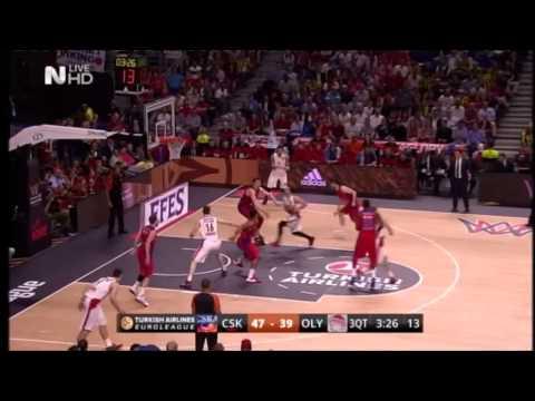 EUROLEAGUE FINAL FOUR 2015 SEMIFINAL   CSKA - OLYMPIAKOS  68-70  (HD)  RESPECT