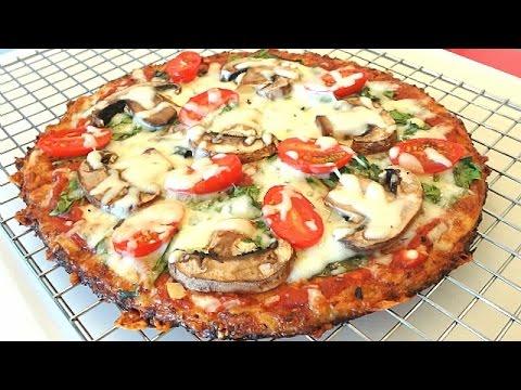 The Best Cauliflower Pizza Crust Recipe That Won't Fall Apart thumbnail