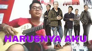 download lagu Armada Harusnya Aku Cover gratis