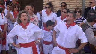 PASACALLES DE LA ESCUELA DE JOTAS DE FITERO (NAVARRA) 21- 09- 2013