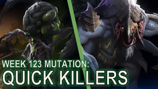 Starcraft II Co-Op Mutation #123: Quick Killers [No Temple Damage]