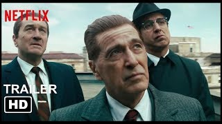 The Irishman- Al Pachino faces off with Stephen Graham Trailer Netflix - 2019