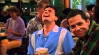 Two And A Half Men Season 3 Bloopers Swesub (Swedish Subles)