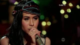 Maudy Ayunda Bayangkan Rasakan Live At Music Everywhere