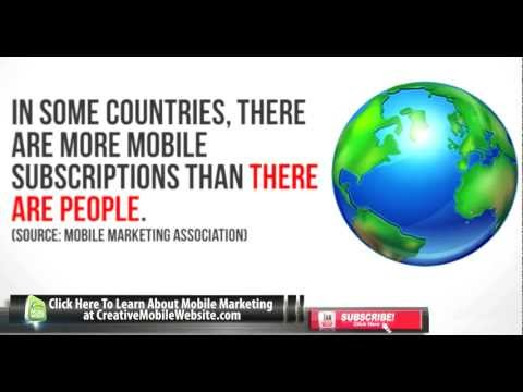 Mobile Marketing Infographics Part 1 | Creative Mobile Website Design Malaysia | +606 2922643