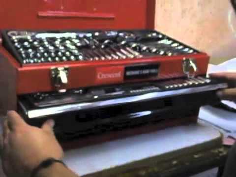 Caja de herramientas crescent youtube - Cajas de herramientas precios ...