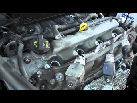 Suzuki SX4 Spark Plugs Replacement