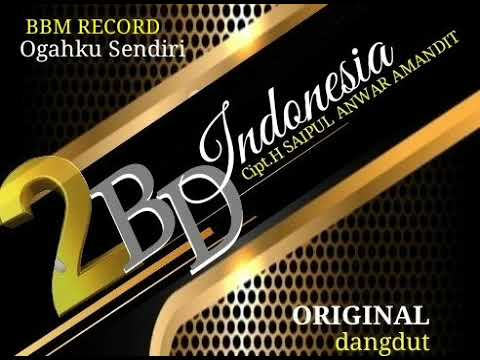 Download 2BD INDONESIA OGAHKU SENDIRI COVER SINGLE Mp4 baru
