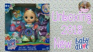 New Baby Alive 2018  Unboxing 2018 Baby Alive Once Upon A Baby🎁An Unique BabyDoll U Have Never Seen!