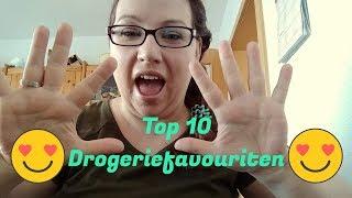 Meine top 10 Drogerie Favoriten