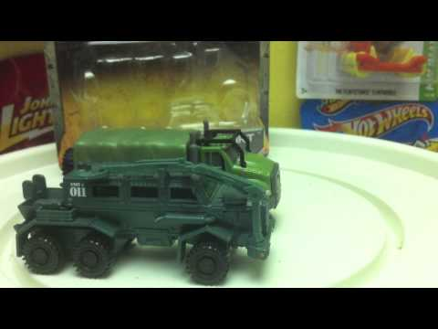 Tonka Strike Force Tactical transport Diecast Review