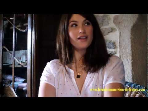 Gemma Arterton about her French immersion at Dialogue-France