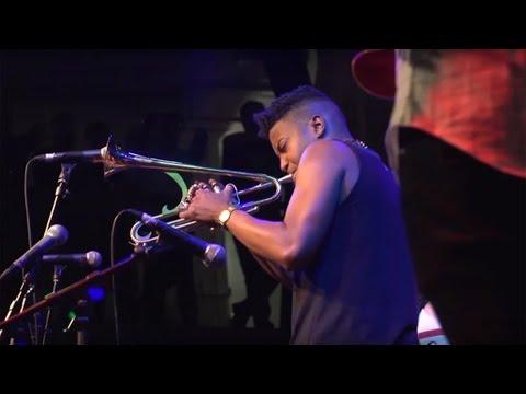 Christian Scott at EFG London Jazz Festival 2015