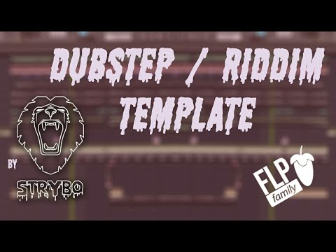 [FREE FLP] Dubstep/Riddim Template (Zomboy/Skrillex/Knife Party/Getter) Style By STRYBO
