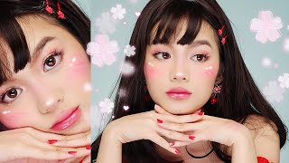 CUTE + EASY ANIME GIRL HALLOWEEN MAKEUP ? Jessica Vu