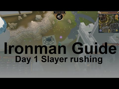 RuneScape 3 Ironman Strategy Guide: Day 1 Slayer rushing
