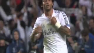 هدف مارسيلو فى شباك أتلتيكو مدريد فى نهائى دورى أبطال أوروبا