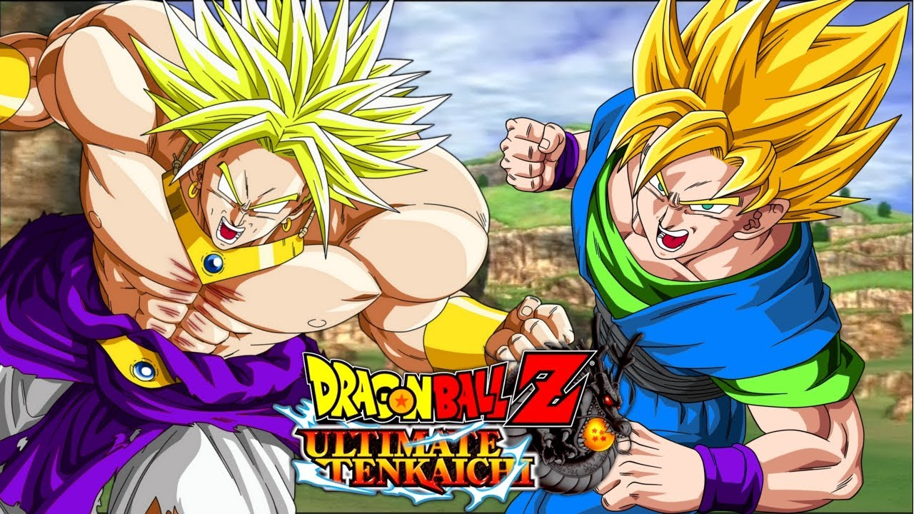 Goku Fights Broly Tenkaichi Broly vs Goku