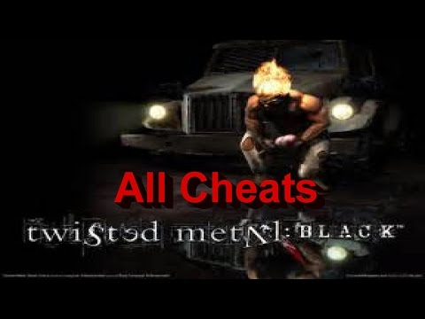 Twisted Metal Black All Cheats Gameplay PS2/PS3