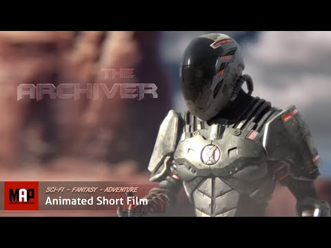 THE ARCHIVER - AWESOME SciFi Fantasy short animated film - HALO Style - Staff Pick