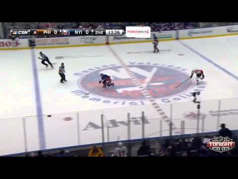 Game 20. Philadelphia Flyers vs New York Islanders (24 november 2014)