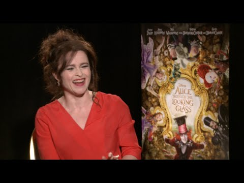 Helena Bonham Carter interview for ALICE THROUGH THE LOOKING GLASS