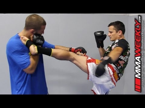 Clinch Gear MMA Technique of the Week: Jab Defense, High Kick Image 1