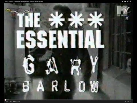 Gary Barlow - The Essential Gary Barlow On MTV - Part 1 (1996)