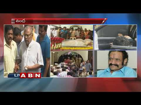 Actor Kota Srinivasa Rao Pays Homage to Nandamuri Harikrishna