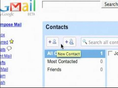 How to Use Gmail : Updating the Contacts Section in Gmail