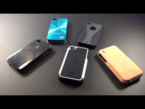 Top 5 BEST iPhone 4S & 4 Cases   Protectors   Covers   Review/Test   iPhone 5