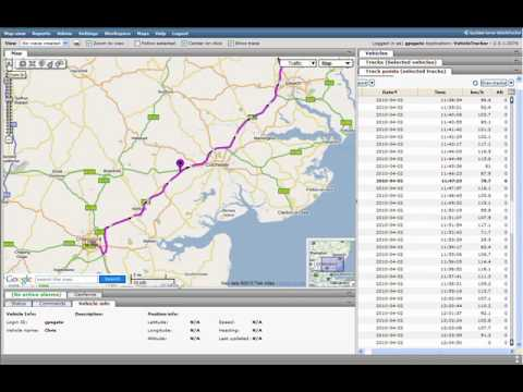 GPS Tracking Data Analysis
