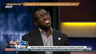 "UNDISPUTED | Shannon Sharpe ""question"" on Patriots - Bengals video drama: What exactly happened?"