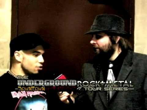 MARC RIZZO (Soulfy, Cavalera Conspiracy Roadrunner) on UDTV Thrash N Bash on FOX
