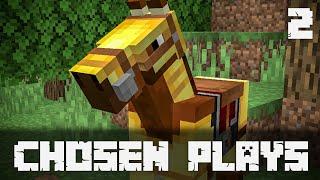 Chosen Plays Minecraft 1.14 Ep. 2 Village Hunting