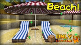 Beach Items with only one command block.
