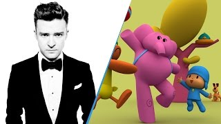Download Lagu Pocoyo ft Justin Timberlake - CAN'T STOP THE FEELING Gratis STAFABAND