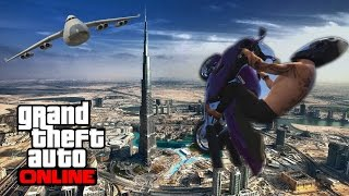 GTA 5 - Top 10 challenge ! GIANT DOUBLE BUMP