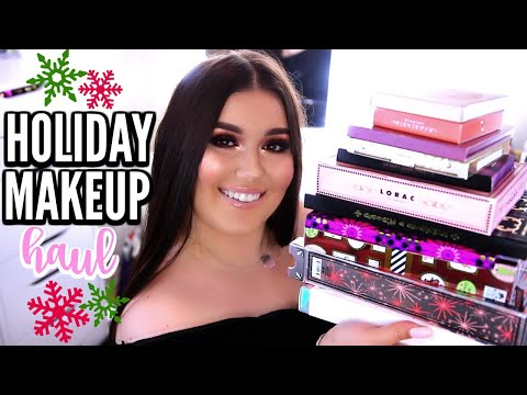 HUGE HOLIDAY MAKEUP HAUL 2017 | What's New At Sephora, Ulta & the Drugstore! ♡ Deanna Borocz
