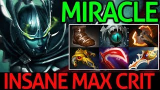 Miracle- Dota 2 [Phantom Assassin] Insane Max Crit - Carry Game