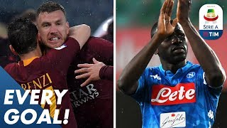 Džeko finally finds a home goal & Koulibaly scores brace to relegate Chievo! | EVERY Goal | Serie A