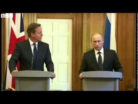 Syria conflict US arm rebels   David Cameron embarrassed   Vladimir Putin answer