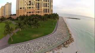 South Marco Beach - Birds Eye View - Marco Island, FL