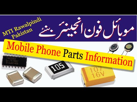 Mobile Parts Name & Functions Part 1