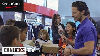 Michael Del Zotto Welcomes Kids Back to Hockey