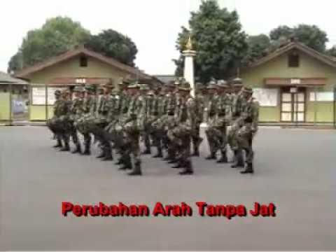 Peraturan Baris Berbaris (PBB) TNI materi  PERUBAHAN ARAH 2