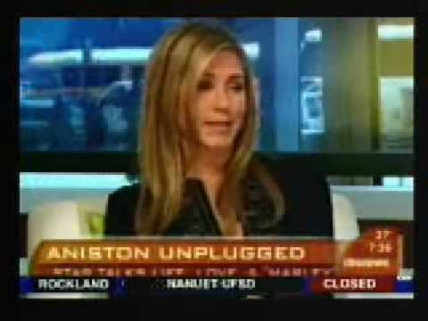 Jennifer Aniston Creepy Interview with Harry Smith