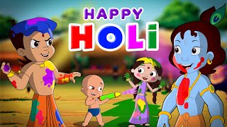 Chhota Bheem and Krishna - Rango se Bhari Holi | Holi Special | Hindi Cartoon for Kids