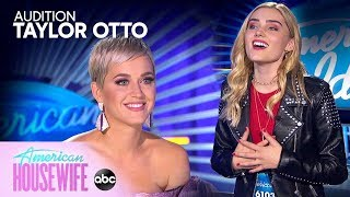 Taylor Otto from American Housewife's Dream Audition - American Idol on ABC